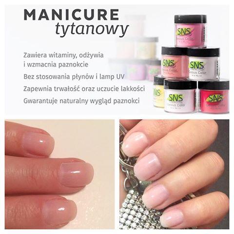 Salon kosmetyczny VENUS - Manicure tytanowy Nowość
