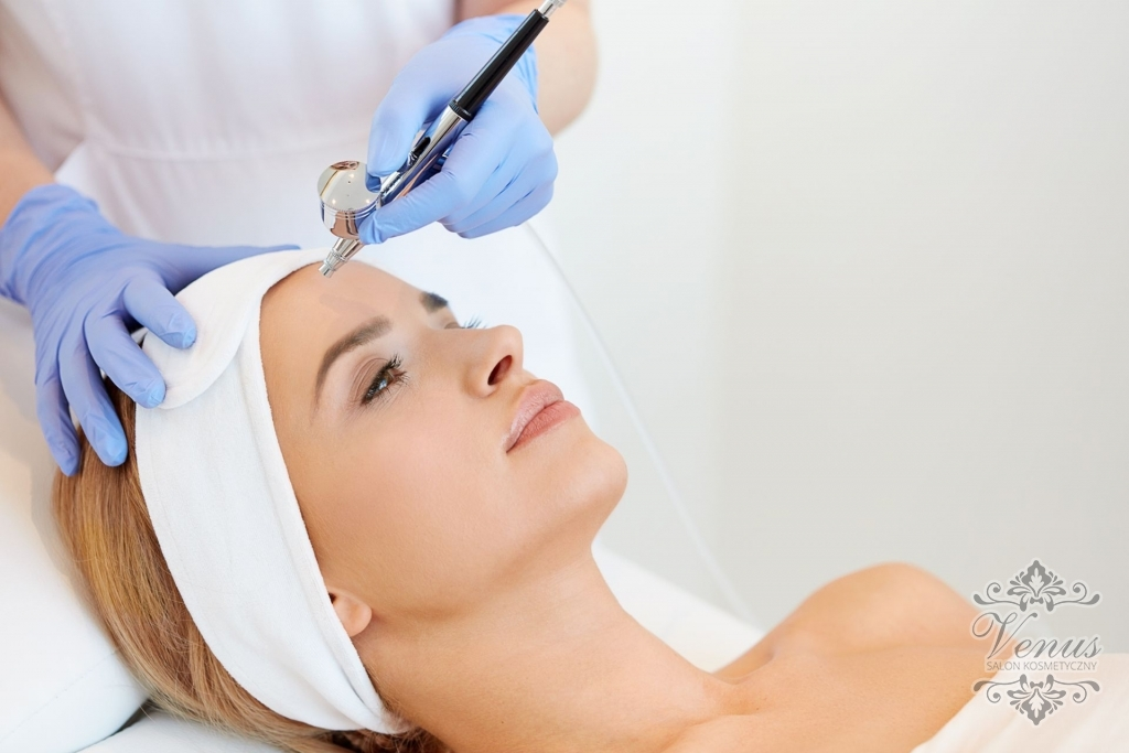 Salon kosmetyczny VENUS - Infuzja Tlenowa - nowy sprzet w Venus