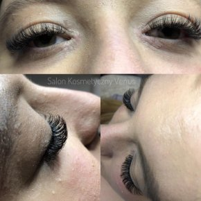 Salon kosmetyczny VENUS - Przedłużanie rzęs